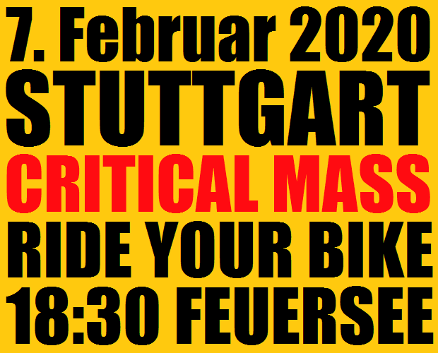 Critical Mass Stuttgart