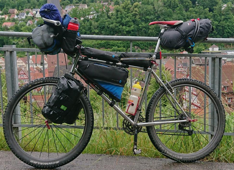 Sunn 5000 bikepacking